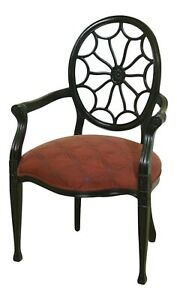 32917ec Hickory Chair Co Web Back Open Armchair