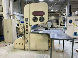 Doall 36 w Vertical Band Saw