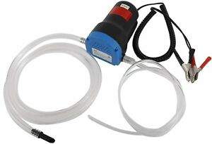 12v Motor Oil Diesel Fuel Fluid Extractor Electric Suction Transfer Change Pump