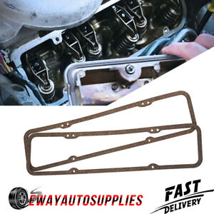 Valve Cover Gaskets For All Small Block Sb Chevy 283 305 327 350 383 400 Engines