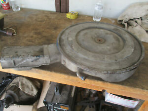 1968 1969 Ford 390 Fe Air Cleaner Assembly No Dents 68 69 Mustang Torino Galaxie