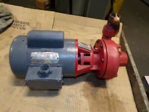 Armstrong 3 4 Hp Centrifugal Pump 1 1 4 X 1 Suction discharge 115 208 230v 1ph