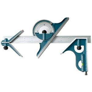 4 Piece Combination Square Set With 12 4r Blade 4901 0003