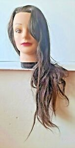 Natural 100 Real Hair Female Mannequin Head Training Head Styling Cosmetology