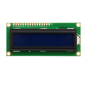 1pc 1602 Character Lcd Display Module Blue Backlight Geekcreit For Arduino Pro