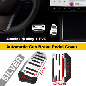 Non Slip Automatic Gas Brake Foot Pedal Pad Cover Car Accessories Parts Tools Us