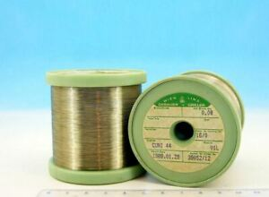 200ft 60m E Isotan Constantan 40awg 0 08mm 97 5 O m 29 7 O ft Resistance Wire