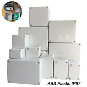 Electronic Enclosure Box Abs Plastic Ip67 House Outdoor Waterproof Junction Box