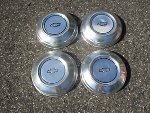 Genuine 1977 To 1990 Chevy Caprice Dog Dish Hubcaps Beaters