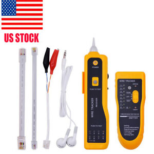 New Jw 360 Network Rj11 Line Finder Cable Tracker Tester Toner Wire Tracer Pouch