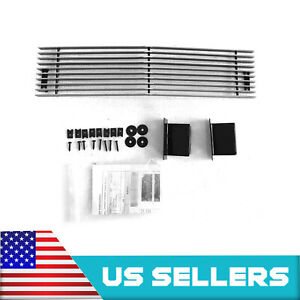 For Chevy 2500hd 3500hd 2015 2019 Chrome Low Bumper Polished Aluminum Car Grille