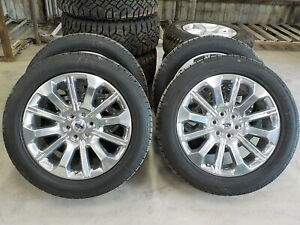 4 Ford F150 Limited Factory 22 Wheels General Tires 2021 618f Oe