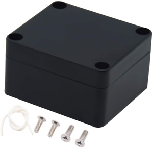 Zulkit Waterproof Plastic Project Box Abs Ip65 Electrical Junction Box Enclosure