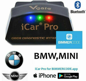 Obd2 Icar Pro Bluetooth Bimmercode Code Reader Wifi Iphone Android Diagnostic