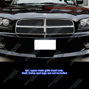 For 2005 2010 Dodge Charger Honeycomb Style Black Billet Grille Grill Insert Fits 2010 Dodge Charger