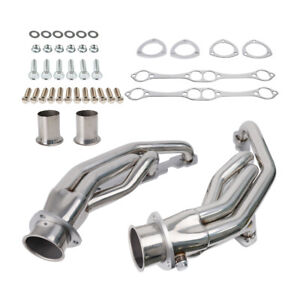 For Chevy Pontiac Buick 265 400 Small Block Stainless Racing Manifold Header