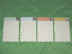 Compact 50 Pages 7 Habits Lined Note Sheets Franklin Covey Planner Refill Fill