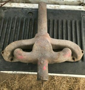 Ih Farmall M Sm Tractor Exhaust Manifold With Pipe