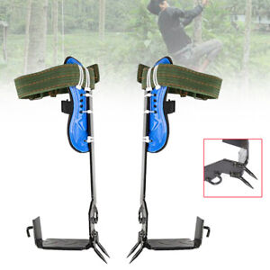 New Tree pole Climbing Spike Belt Straps Tree Climbing Tools Rope Rescue Tools