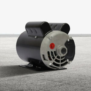 5hp Air Compressor Electric Motor 56hz One Phase 208 230v 5 8 Shaft ccw Motor