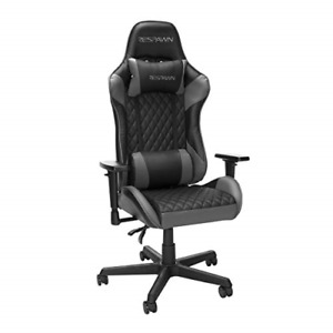 Respawn 100 Racing Style Gaming Chair In Gray Rsp 100 gry