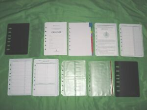 Classic Tab Page Accessory Lot Franklin Covey Planner Refill Fill Set 244