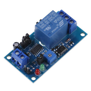 Dc 12v Time Relay Module Normal Open Time Delay Relay Timer Relay Switch bpjueid