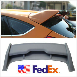Car Modified Rear Roof Wing Spoiler For 2012 2018 Ford Focus Hatchback Rs Style
