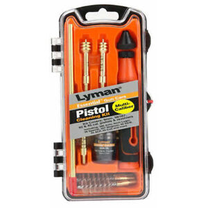 Lyman Pistol Caliber Cleaning Kit 9mm 40 Caliber and 45 ACP Md: 04036 $35.69