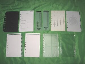 Desk Tab Page Accessory Lot Day Timer Planner Classic Franklin Covey Refill