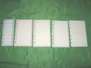 Portable 151 Color Lined Note Pages Day Timer Planner Franklin Covey Compact