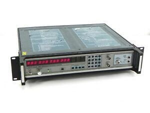 Eip 548a Microwave Frequency Counter With Options 05 06 08 10hz 26 5 Ghz