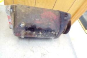 Original Ford Naa jubilee Tractor 6 volt Working Generator Late 8n Ford