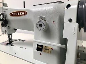 Consew Upholstery Sewing Machine Walking Foot 206rb 5