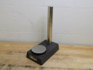 Spi Comparator Gage Stand 3 5 8 Flat Anvil 8 X 5 Meehanite Cast Iron Base