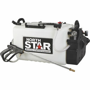 Northstar Boomless Broadcast And Spot Sprayer 16 gallon Cap 2 2 Gpm 12 Volts