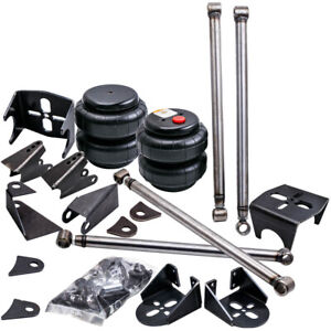Weld On Triangulated 4 Link Suspension Kit Bars 2500 Bags Air Ride Bag Mount