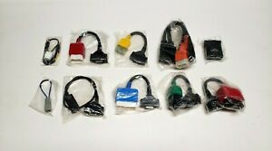 Lot Of 10 New Vetronix Tech 1 Tech1a Mastertech Cables Adapters