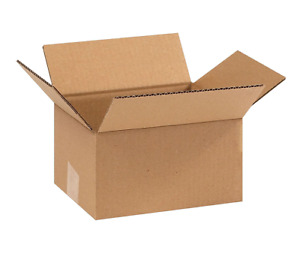 100 9x7x5 Cardboard Paper Boxes Mailing Packing Shipping Box Corrugated Carton