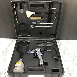 Central Pneumatic Professional Paint Mini Spray Gun With Nozzle Case Tools