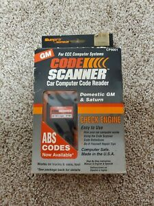 Actron Cp9001 Code Scanner For 1982 1993 Gm Vehicles Saturn Gm Mfg Usa
