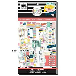 Happy Planner Stickers Book Womankind 699