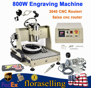 Cnc 3040 Router Engraver 5 Axis 3d Cutter Engraving Milling Machine W controller