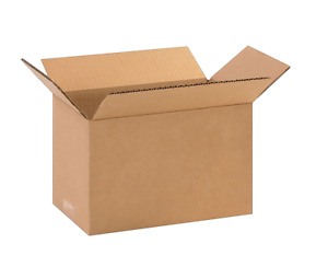100 10x6x6 Cardboard Paper Boxes Mailing Packing Shipping Box Corrugated Carton