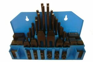 58 Piece Clamping Kit 1 2 T slot With 3 8 16 Studs 3900 0002