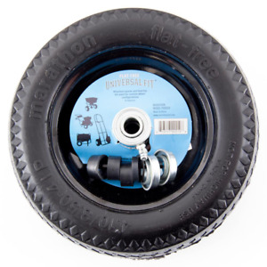 Hand Truck Flat Free Tire Dolly Wheel Replacement Universal 10 1 2 X 3 1 3 Inch