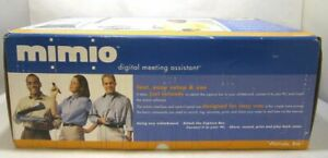Mimio Digital Meeting Assistant Whiteboard Scanner Sealed