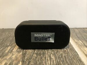 Magtek 21073103 Bullet Qwickpay Portable Bluetooth Credit Card Reader Untested