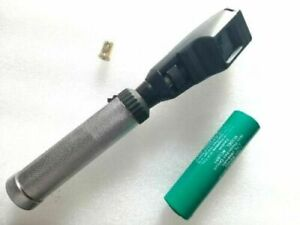 Rechargeable Copy Of Heine Streak Retinoscope Made India Extra Bulb Charger Case