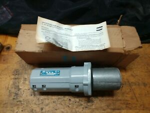 Crouse Hinds 100 Amp Apj10487 Plug 3w 4p New In Box